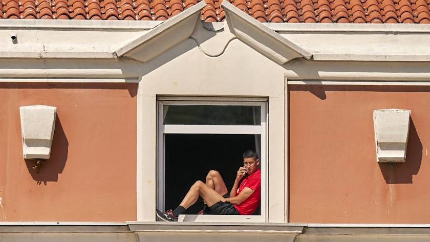 Los futbolistas del Fuenlabrada siguen confinados.
