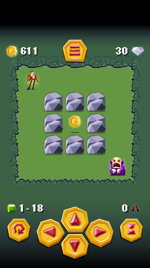Vampire's Gold, Logic Puzzle- screenshot