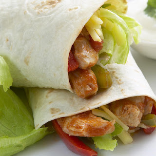 Chicken and Tomato Wraps