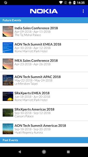 Nokia Events 1.8 screenshots 2