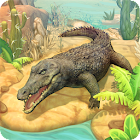Crocodile Family Sim : Online icon