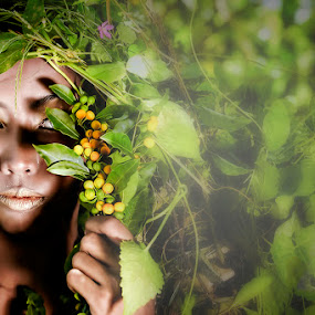 Gaia by Maybelle Blossom Dumlao-Sevillena - People Portraits of Women