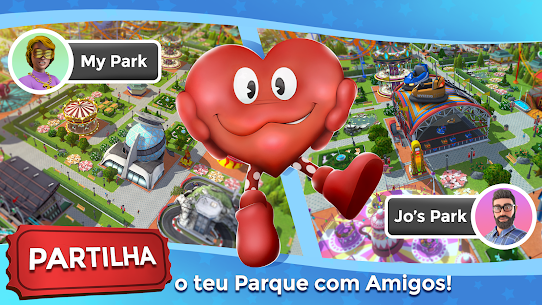 RollerCoaster Tycoon Touch Apk Mod Dinheiro Infinito 6