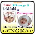 RANGKAIAN NAMA BAYI LAKI & PEREMPUAN ISLAMI INDAH icon