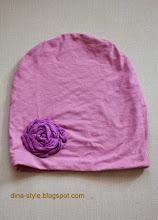 Photo: трикотажная шапочка для девочки