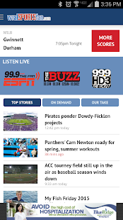 WRAL Sports Fan - screenshot thumbnail