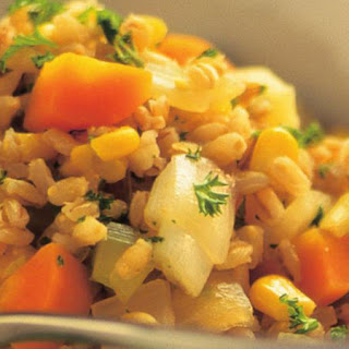 Barley and Vegetable Hotpot