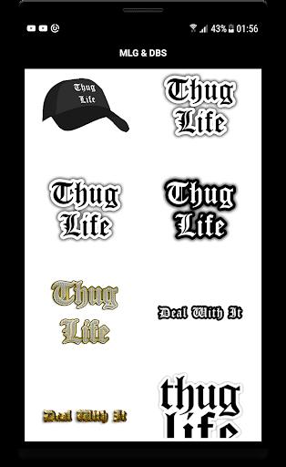 MLG Thug Life Photo Editor: Super Saiyan for PC
