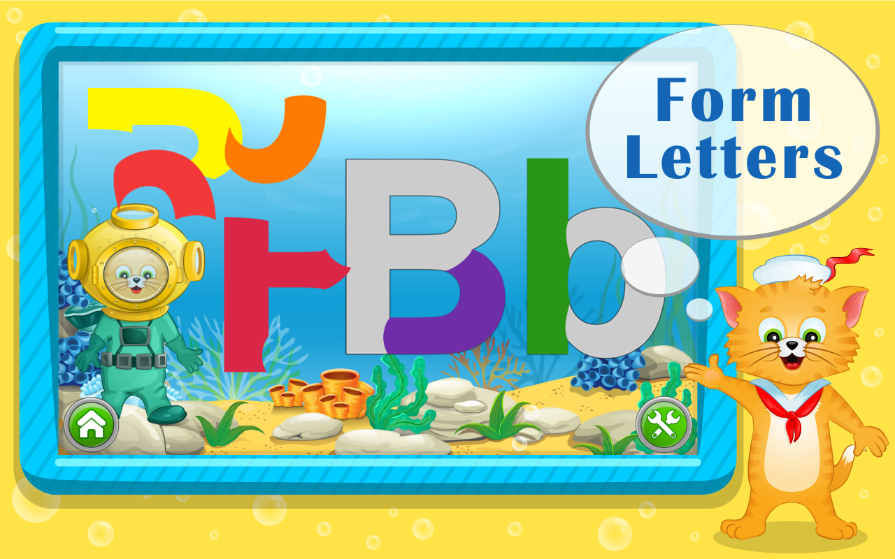 Learn ABC Letters with Captain Cat- screenshot