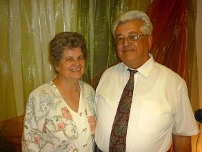 Photo: 2011. június 19-én Makovei János és felesége, Marika voltak Gyülekezetünk szolgáló vendégei