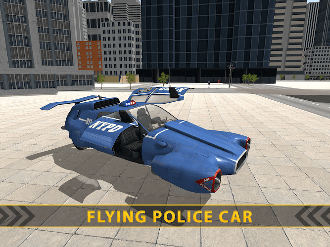 Download Flying Police Car Addictive Flying Car Game Apk Latest