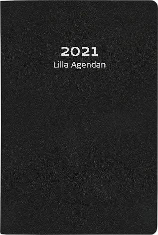 Lilla Agenda konstläder svart