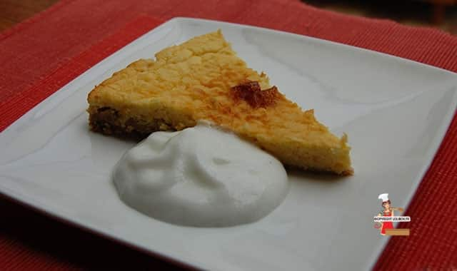 Dukan Lemon Tart