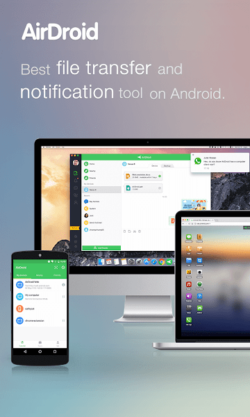 Paid / Cracked • AirDroid: File Transfer/Manage v4.0.0 build 30164
