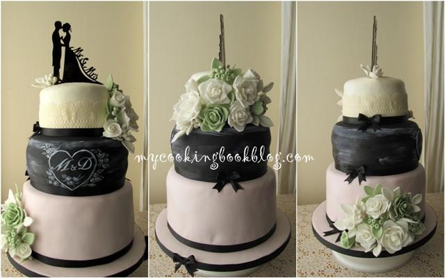 Свадбена торта за Marios & Douvile