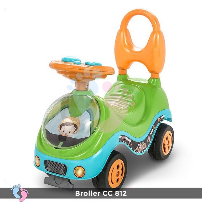 Xe chòi chân trẻ em Broller CC YH-812 4