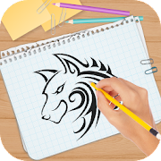 How to Draw Tattoo Design icon