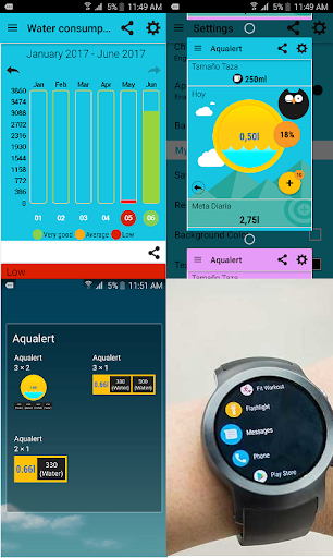 Aqualert Premium:Water Tracker screenshot