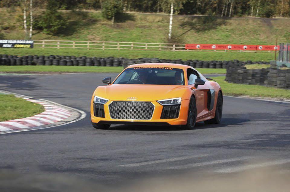 Audi R8 V10 Plus Hire Cardiff