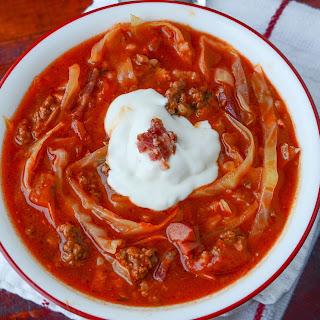 Crockpot Cabbage Roll Soup!.
