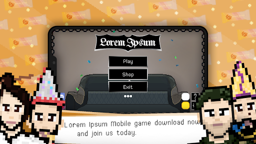 Lorem Ipsum : Multiplayer - Online Game - Arcade 0.2 screenshots 1
