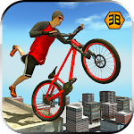 Rooftop BMX bicycle rider 2017 Icon