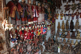 Photo: Year 2 Day 55 - Marionettes in the Shop