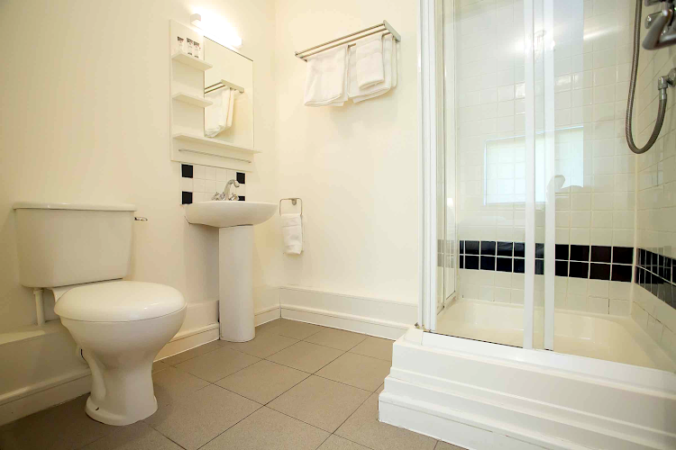 Bathroom at IFSC Mayor Street apartment