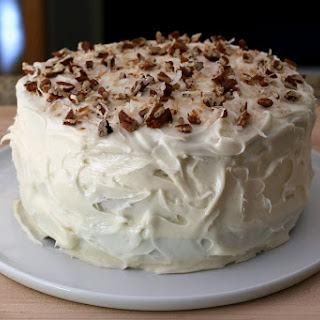 Classic Italian Cream Cake.