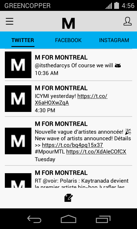 M for Montreal 2016- screenshot