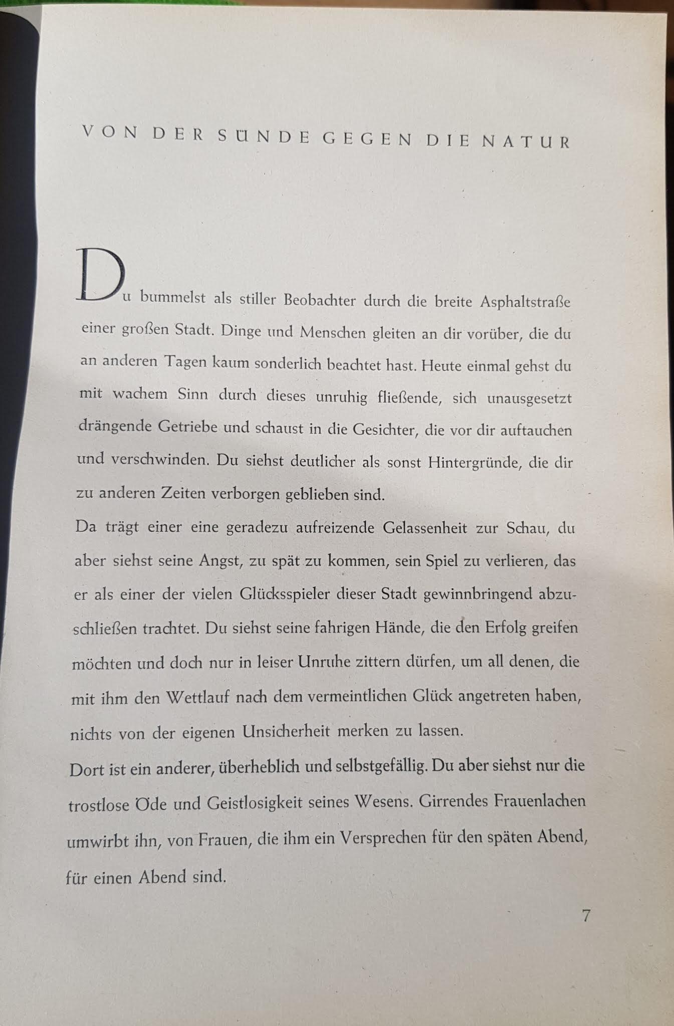 Karl Bückmann, In Natur und Sonne, Schriftenreihe für völkische Leibeszucht und nordische Lebenshaltung - Von der Sünde gegen die Natur, 1940
