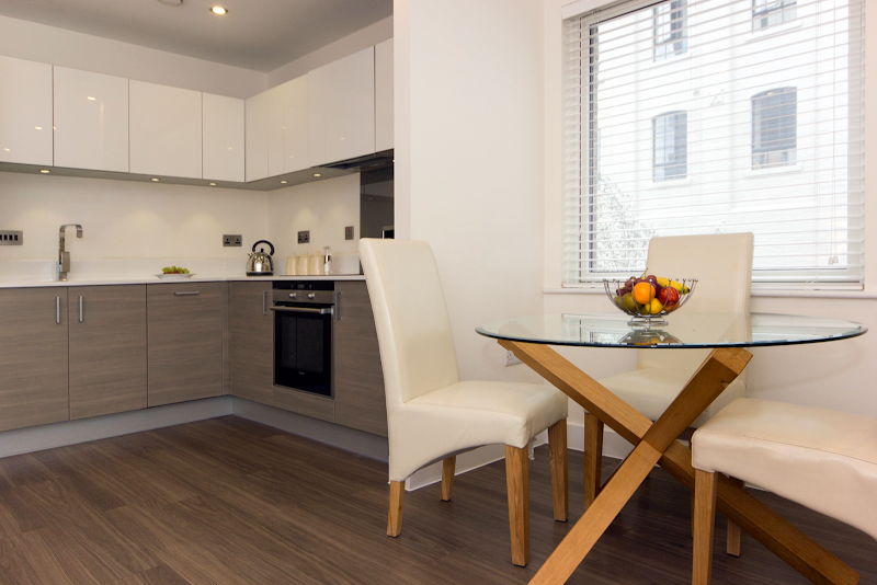 Fully equipped kitchen at Mill Park One Bedroom