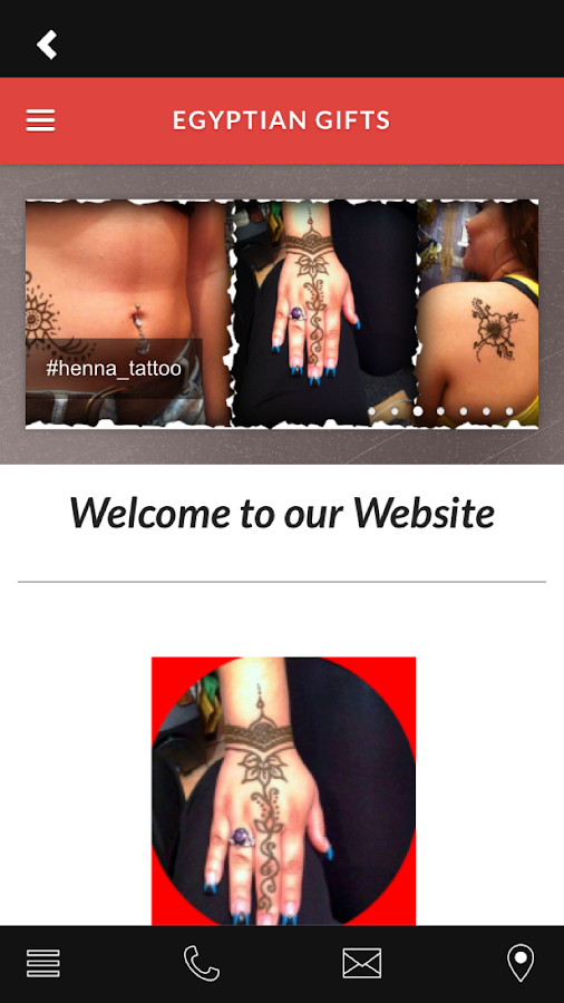 Egyptian Henna Tattoo old town- screenshot