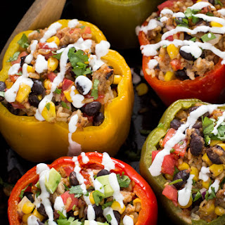 Turkey Stuffed Bell Peppers Crock Pot Recipes