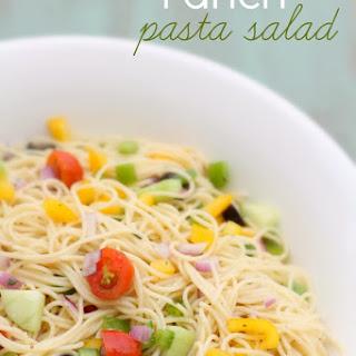 Ranch Pasta Salad.