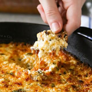 Cheesy Havarti Hot Spinach Dip.
