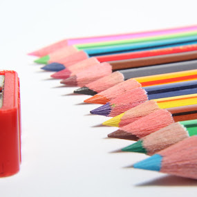 Color pencil by Hafiz Hj Ismail - Artistic Objects Other Objects ( pencil, color, color pencil, sharpener )