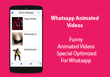 GIF For Whatsapp- screenshot