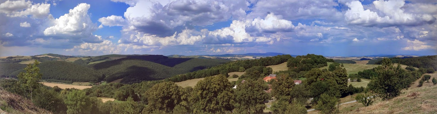 View from the top of the hill, Bradlo, Slovakia