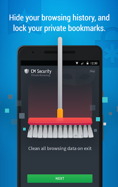 #5. CM Security AppLock AntiVirus (Android)