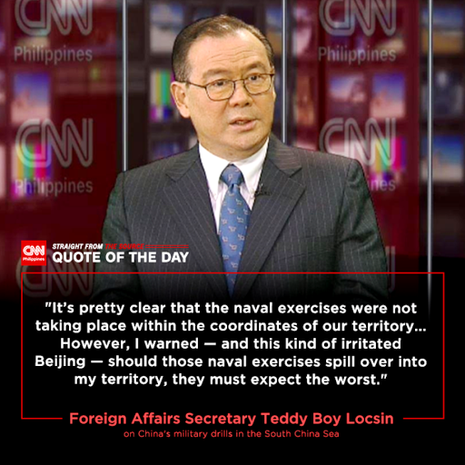 Pompeo-Locsin: USA will attack China with all War weapons IF drills, missiles enter Philippine EEZ