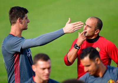 """Roberto Martinez heeft lovende woorden voor Rode Duivel: """"Hij is de beste doelman ter wereld"""""""