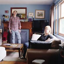 Photo: title: Darron Burke + Joyce Barnes, Hyde Park, Massachusetts date: 2016 relationship: friends, met at Strawberries record store years known: Darron 25-30, Joyce 0-5