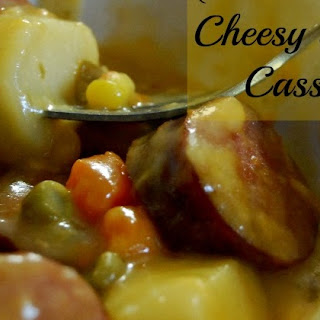 Crock Pot Cheesy Sausage Casserole