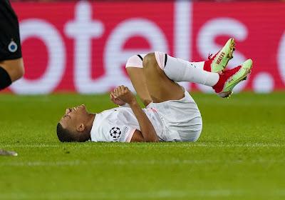 Le Paris Saint-Germain donne des nouvelles de Mbappé et de son infirmerie