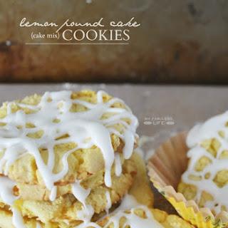 LEMON POUND CAKE COOKIES.