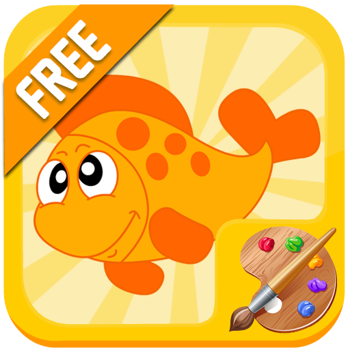 Fish Coloring app (apk) free download for Android/PC/Windows