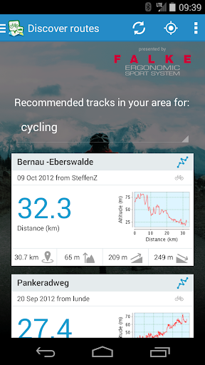 GPSies screenshot 6