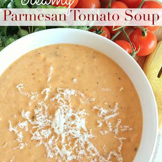 Creamy Parmesan Tomato Soup