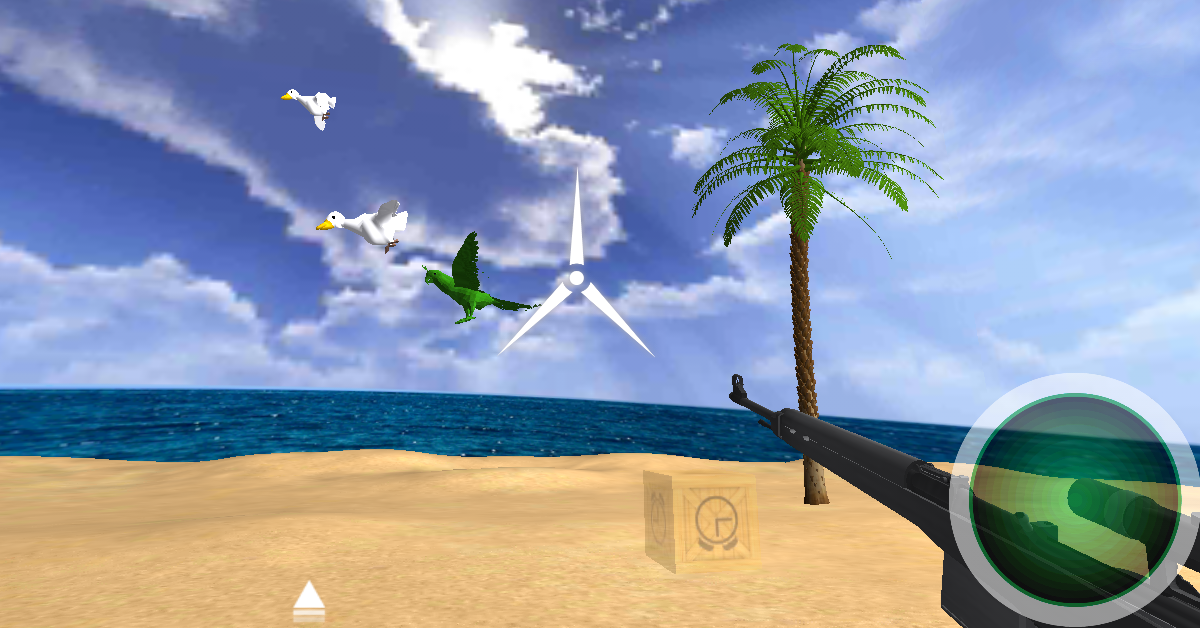 Shooting Birds 3D- screenshot